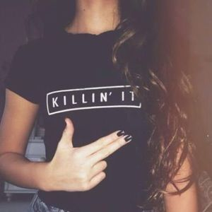 Killin It Brandy Crop Top